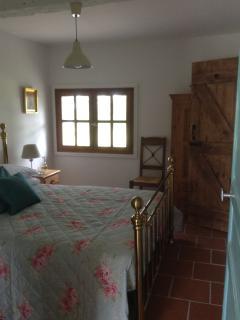 Les Cypres downstairs bedroom