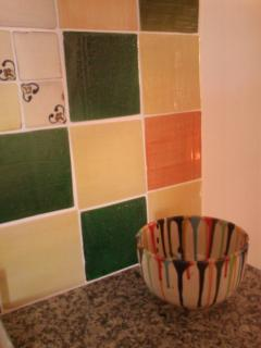 Azulejos y ensaledara de Nijar