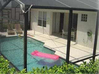 Villa heated pool
