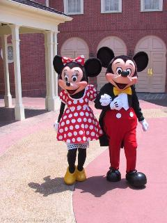 Mickey & Minnie, our neighbours