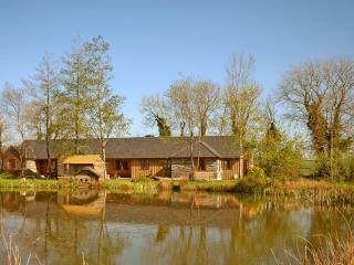 Long Barn Lakeside cottages with fishing, indoor pool gym and hot tubs
