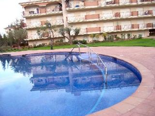 Apartamento con piscina adaptada