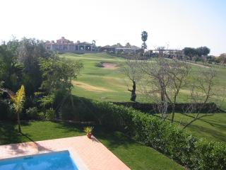 View over fairway from the villa - no houses crowding in here