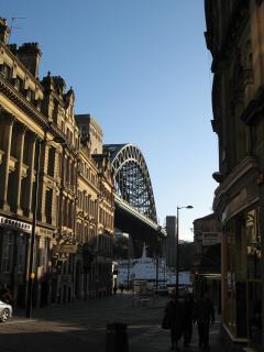 View of Tyne Bridge