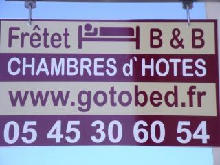 Fretet , Le Bouchage , Chambre de Hotes, Champagne-Mouton