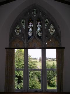 Through another arched window!
