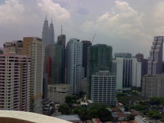 Bukit Bintang majestic view