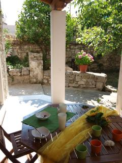 Privat courtyard