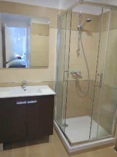 Cuarto de baño (con ducha), funcional completamente nuevo.