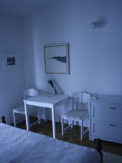 Seating corner in the bedroom