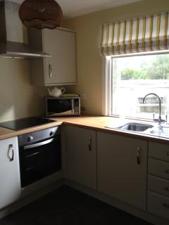 Newly refitted kitchen