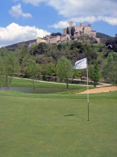Antognolla Castle and Golf Course