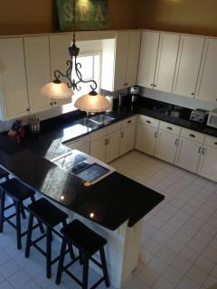New Granit Counter tops and appliances
