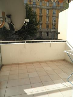 big terrace with via cavo TV