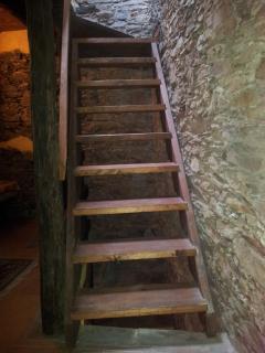 particolare delle scale