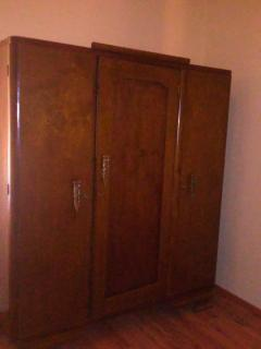 One of the 3 available wardrobes