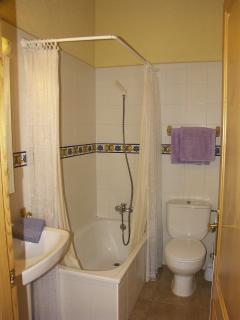 Baño Habitación Lila Mas Vilarrasa