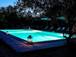Country villa where Tuscany and Umbria meet, Agello