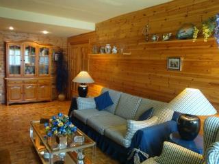 Acogedor piso de madera, céntrico y con vistas