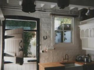 Kitchen with stable door