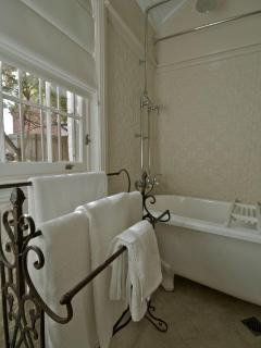 unwind in our beautiful bathroom