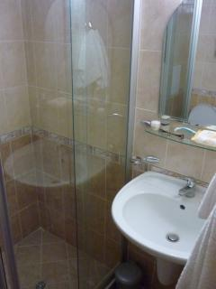 New Bathroom with Full screen shower