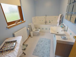Family bathroom with toilet