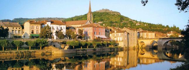 St. Antonin Noble Val (10 mins by car)