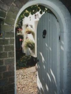 Gate to Coach House