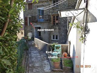 Apart & minicottage, centro Corcega, Venaco