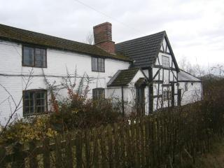 Front Elevation with its Tudor Look and quirkiness