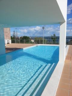 pool with sea views, for 2 bedroom apartment, Fuseta, East Algarve, Portugal