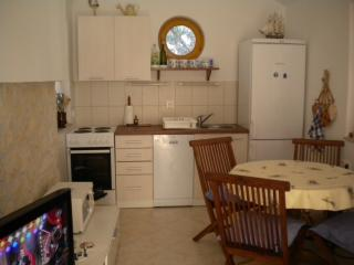 The kitchen and the dinning room