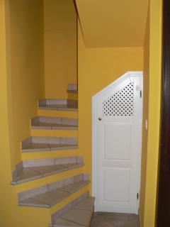 scale per salire in terrazza
