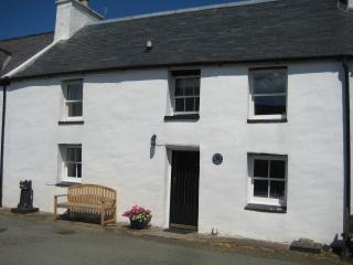 This is our beautiful 18C cottage by the sea