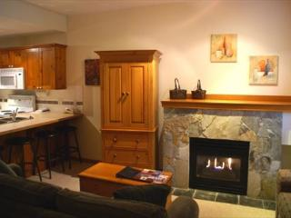 Symphony 47 - studio suite, hot tub access & free wifi on free shuttle route, Whistler