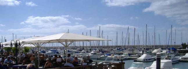 Wonderful New Marina Rubicon, great restaurants, 5 mins drive