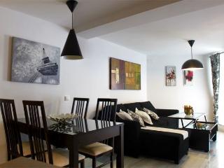 Salón comedor moderno para 4 personas