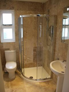 Ensuite to the king bedroom on the second floor