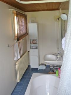 The bathroom of the first floor
