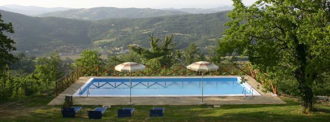 The 12m x 6m pool