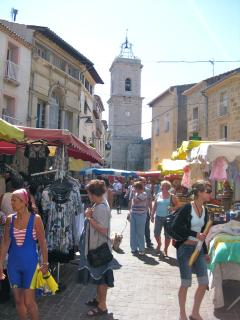Marseillan Tuesday market