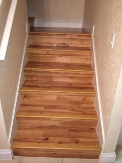 Hardwood Floors on Stairway, Bedrooms, and Hallway