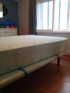 Colchon y tapi-flex cama matrimonio