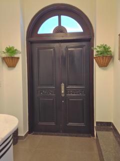 The Main Door.