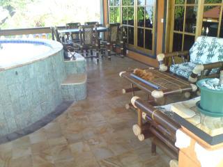 Nice veranda and relaxpool