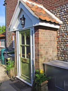 Albion Cottage front door
