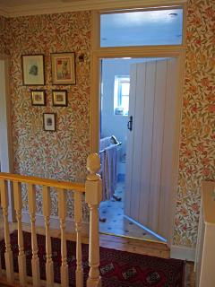 Albion Cottage bathroom from the landing