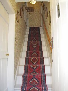 Albion Cottage stairs