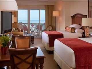 Hyatt Regency Deluxe Guestroom with 2 Queens Beautiful Balcony View of the Gulf